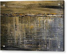 Acrylic Print featuring the painting Reflection Series by Dolores  Deal