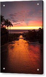 Sunset After Rain Acrylic Print