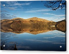 Reflections On Loch Lomond Acrylic Print by Stephen Taylor