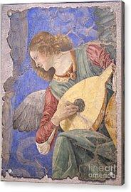 Renaissance Lute Player Acrylic Print