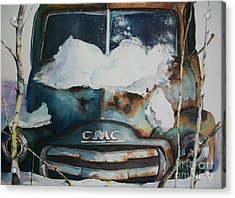 Resting And Rusting Acrylic Print