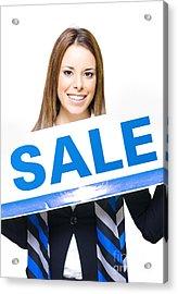 Retail Sale Acrylic Print