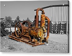 Retired Petroleum Pump Acrylic Print