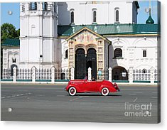 Retro Car Acrylic Print by Evgeny Pisarev