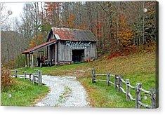 Richland Creek Farm Barn Acrylic Print