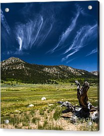Riders In The Sky Acrylic Print by Mitch Shindelbower