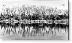 Acrylic Print featuring the photograph Rippled Reflection by Bill Kesler