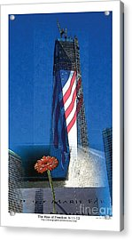 Rise Of Freedom 2012 Acrylic Print