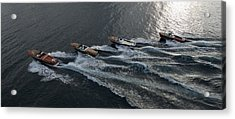 Riva Runabouts Aerial Acrylic Print
