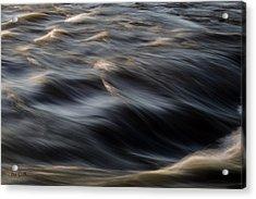 River Flow Acrylic Print by Bob Orsillo