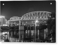 Acrylic Print featuring the photograph River Reflections by Robert Hebert