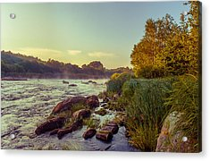 River Stones Acrylic Print by Dmytro Korol