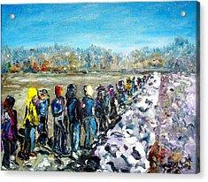 River's Walk Acrylic Print