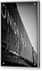 Riveted Acrylic Print by Bill Kesler