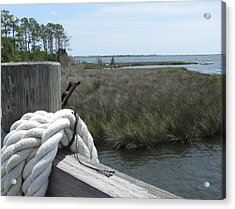 Acrylic Print featuring the photograph Roanoke Rope 2 by Cathy Lindsey