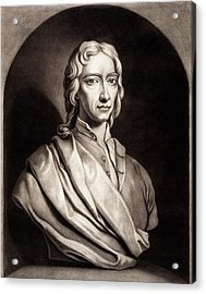 Robert Boyle Acrylic Print by Gregory Tobias/chemical Heritage Foundation