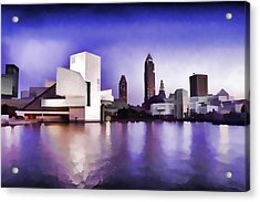 Rock And Roll Hall Of Fame - Cleveland Ohio - 3 Acrylic Print