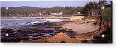 Rock Formations In The Sea, Carmel Acrylic Print
