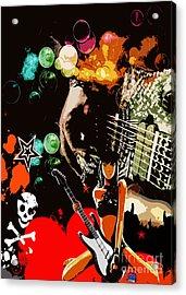 Rock Acrylic Print by Mundo Arte