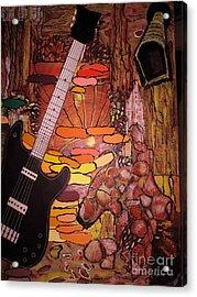 Rocking Horse Acrylic Print by Suzanne Thomas
