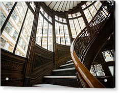 Rookery Building Up The Oriel Staircase Acrylic Print