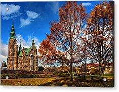 Rosenborg Castle Copenhagen Acrylic Print by Carol Japp