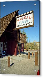 Route 66 - Bagdad Cafe Acrylic Print by Frank Romeo