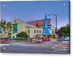 Roy E. Disney Animation Building In Burbank Ca. Acrylic Print