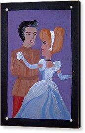Royal Romantics Acrylic Print by Yvonne  Kroupa