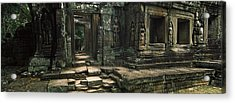 Ruins Of A Temple, Banteay Kdei Acrylic Print by Panoramic Images