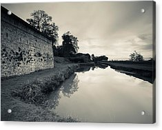 Ruins Of River Fort Designed By Vauban Acrylic Print by Panoramic Images
