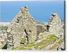 Ruins Acrylic Print by Tom Gowanlock