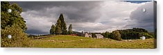 Acrylic Print featuring the photograph Rural Idyll by Sergey Simanovsky