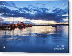 Russell Bay Of Islands New Zealand Acrylic Print by Colin and Linda McKie