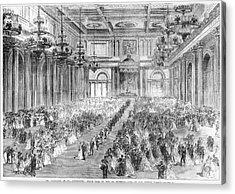 Russia Royal Wedding, 1866 Acrylic Print by Granger