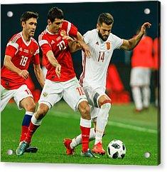 Russia Vs Spain - International Friendly Acrylic Print by Epsilon