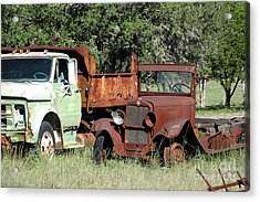 Rust In Peace No. 1 Acrylic Print