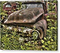 Rusty And Crusty Truck Acrylic Print