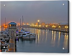 Safe Harbor Acrylic Print by Brian Wright