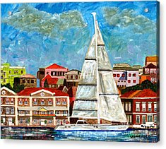 Sailing In Acrylic Print
