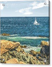 Sailing Acrylic Print by Raymond Earley