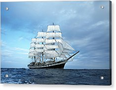 Sailing Ship Acrylic Print by Anonymous