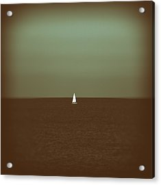 Sailing Acrylic Print by Stelios Kleanthous