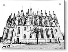 Saint Barbara Church  Acrylic Print by Michal Boubin
