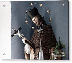 Saint John Of Nepomuk Acrylic Print by Agnieszka Kubica