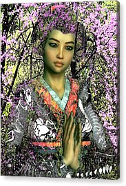 Saint Lucy Yi Zhenmei Of China Acrylic Print