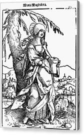Saint Mary Magdalene Acrylic Print by Granger