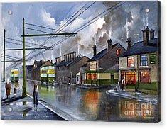 Salop Street Dudley C 1950 Acrylic Print