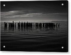 Salton Sea Piles Acrylic Print