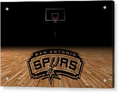 San Antonio Spurs Acrylic Print by Joe Hamilton